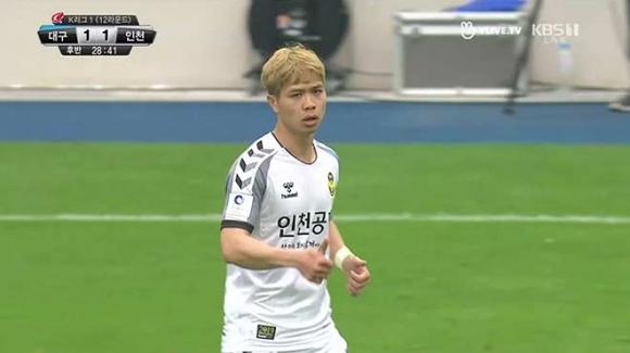 Daegu - Incheon United: Công Phượng vào sân, bước ngoặt dự bị - 1