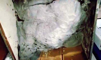 Giết người tình rồi giấu xác vào tủ quần áo chứa đầy bê tông