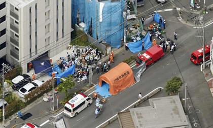 Số nạn nhân trong vụ thảm sát ở Nhật Bản tăng lên 18