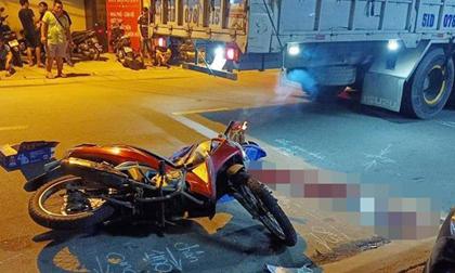 Nam sinh tử vong dưới gầm xe tải ở Sài Gòn