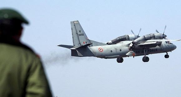 Máy bay quân sự Ấn Độ chở 13 người mất tích gần biên giới TQ