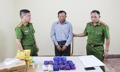 Bắt 1 đối tượng thu gần 30 nghìn viên ma túy tổng hợp