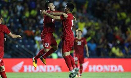 Thua 'đấu súng', ĐT Việt Nam lần thứ 2 về nhì tại King's Cup