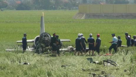 Rơi máy bay ở Khánh Hòa, 2 người thương vong - 1