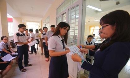 Hôm nay, gần 900 nghìn thí sinh làm thủ tục dự thi THPT quốc gia 2019