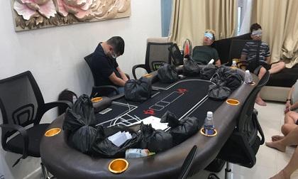 """Triệt phá sòng bạc """"khủng"""" tại chung cư hạng sang ở Sài Gòn"""