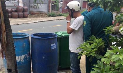 Phát hiện thi thể thai nhi trong thùng rác ở Bình Dương
