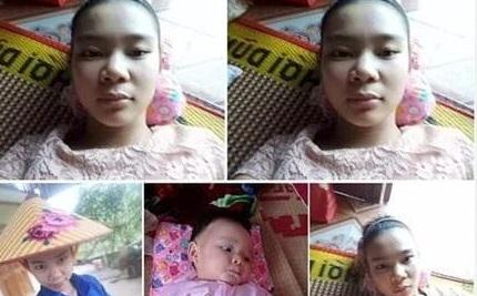 Mẹ cùng con gái 6 tháng tuổi mất tích bí ẩn khi đi bán thanh long