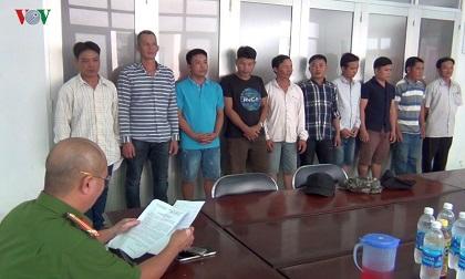 Liên tiếp triệt phá 2 tụ điểm cờ bạc tại Tiền Giang
