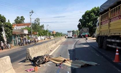 Tai nạn nghiêm trọng ở Bình Định, 2 người chết 1 người bị thương