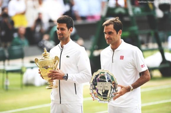 Djokovic đi vào lịch sử bằng chức vô địch Wimbledon trước Federer - 1