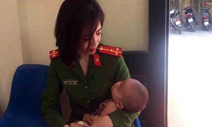 Bố bế con 7 tháng tuổi ra cầu Nhật Tân tự tử