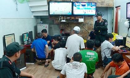 11 tụ điểm đánh bạc ở Nha Trang bị đột kích