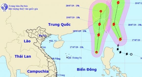 Bão Danas chuyển hướng, Biển Đông lập tức xuất hiện áp thấp nhiệt đới khác - 1