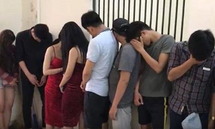 TP.HCM: Phát hiện hàng chục thanh niên phê ma túy trong quán bar
