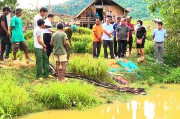 Khánh Hòa: 4 em nhỏ chết đuối thương tâm tại ao nước trước nhà - 2
