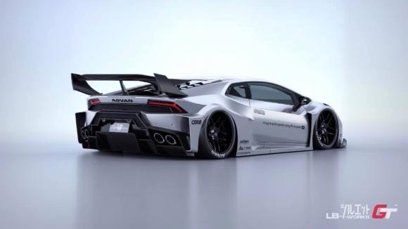 Lamborghini Huracan ngầu hơn trong bộ widebody mới của Liberty Walk - 7