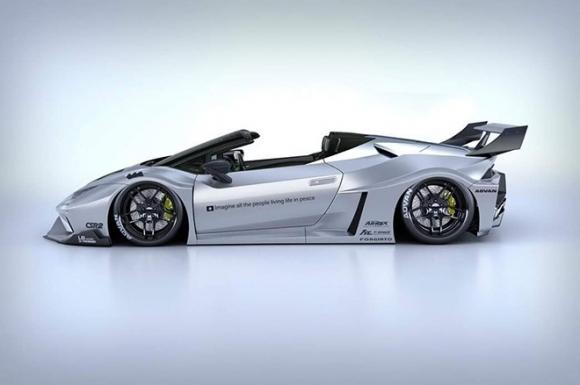 Lamborghini Huracan ngầu hơn trong bộ widebody mới của Liberty Walk - 3