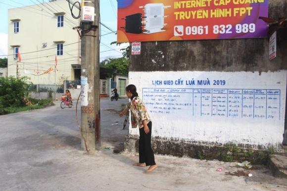 Vị trí Đình cũ (cạnh ngã ba) thuộc khu Phượng Hoàng Thượng - nơi chị Loan, chị Thú phát hiện bé gái bỏ rơi. Ảnh: Đ.Tùy