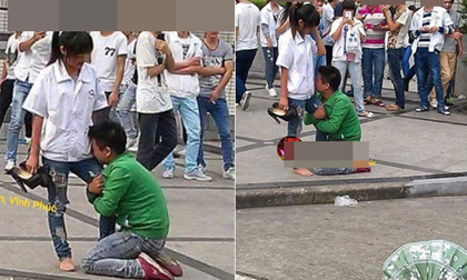 Thanh niên quỳ gối xin lỗi bạn gái gây xôn xao dân mạng