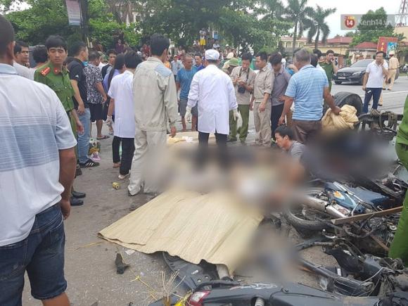 Ảnh: Hiện trường đầy ám ảnh vụ tai nạn khiến ít nhất 6 người tử vong tại Hải Dương - 14