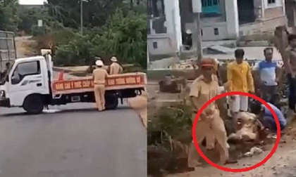 Mức án nào cho tài xế chở gỗ lậu tông xe, hất văng đại úy CSGT?