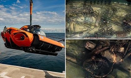Phát hiện xác tàu đắm 163 năm cùng thi thể các thủy thủ Anh ở vùng biển Nga