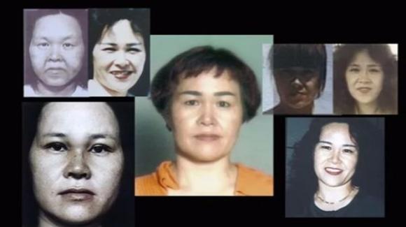 Người phụ nữ có bảy gương mặt.