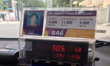 Hà Nội: Đi taxi 6,3km, du khách Nhật nghi bị tài xế hãng VIC chặt chém đến 700 ngàn