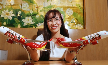 Vietjet của tỷ phú Nguyễn Thị Phương Thảo báo lãi 'vượt mặt' Vietnam Airlines