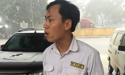 3 phụ nữ bị tài xế taxi Hoàn Kiếm đánh ở bến xe