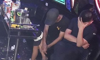 Phát hiện nhóm nam nữ 'phê' ma túy trong quán karaoke