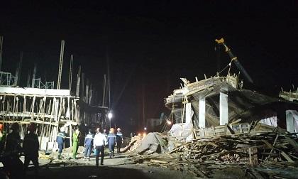 Đã tìm thấy thi thể 1 nạn nhân vụ sập giàn giáo xây dựng trái phép ở cây xăng