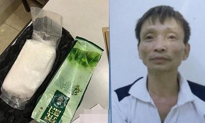 Xách thuê 1 kg ma túy đá từ Hòa Bình về Hà Nội