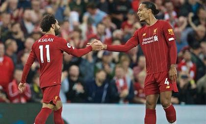 Salah rực sáng, Liverpool thắng tưng bừng ngày mở màn Ngoại hạng Anh