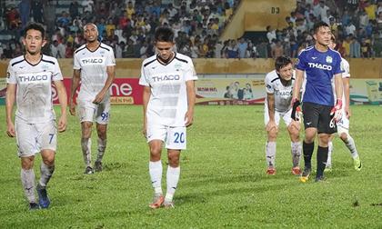 HAGL rối bời giữa cuộc chiến... trụ hạng V-League 2019