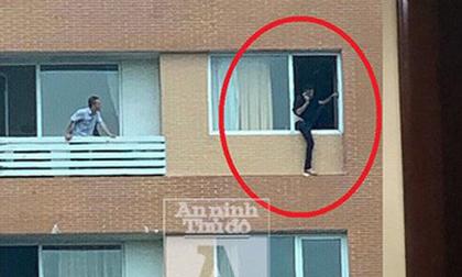 Giải cứu người đàn ông quốc tịch Pháp đòi tự sát: Những giây phút ngộp thở, 'căng như dây đàn'