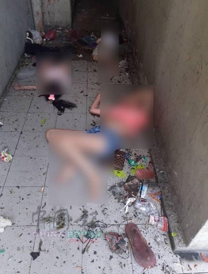 Người phụ nữ đã ném con trai ra khỏi tòa nhà, trước khi ôm con gái nhảy xuống.
