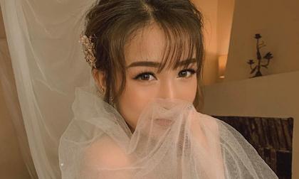 Con gái 20 tuổi của Minh Nhựa khoe ảnh mặc váy cô dâu, ông bố đại gia vào bình luận bất ngờ