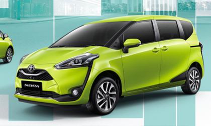 Nội soi ô tô MPV Toyota giá 573 triệu