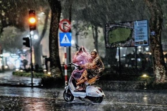 Thời tiết 3 ngày tới, mưa dông khắp mọi miền