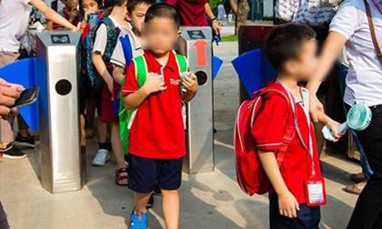 'Có thể bé trai 6 tuổi trường Gateway tự thay áo trong xe'