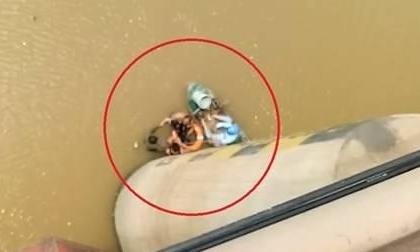 Bỏ con 6 tháng tuổi trên cầu, nữ giáo viên nhảy xuống sông tự tử