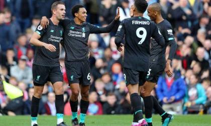 Vùi dập Burnley, Liverpool đòi lại ngôi đầu từ tay Man City