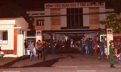 Cháy tại Bệnh viện Quân Dân Y Sóc Trăng
