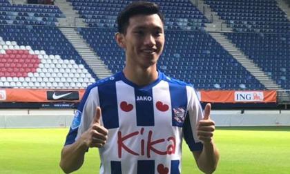 Đoàn Văn Hậu chính thức ra mắt CLB Heerenveen, khoác áo số 15