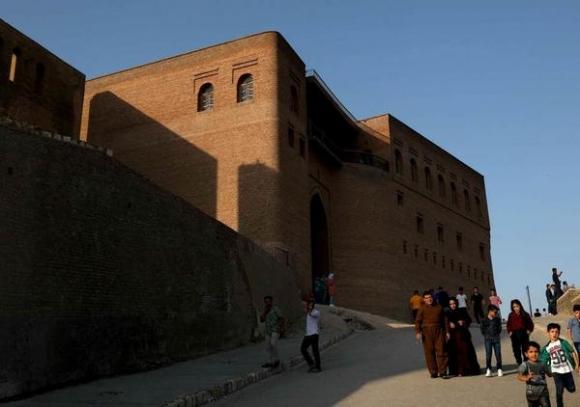 Tòa án Irbil là nơi xảy ra án mạng kinh hoàng.