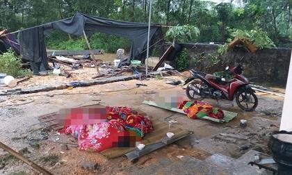Sập tường rào ở Thái Nguyên, 3 thợ xây bị đè tử vong