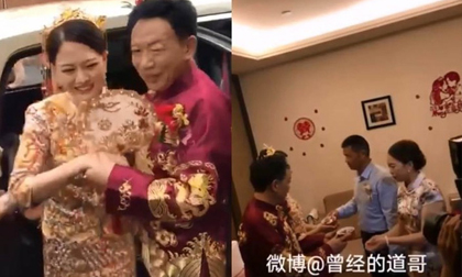 Đám cưới của cô dâu 26 chú rể 62 gây sốc, nhưng điều đáng chú ý là biểu cảm của mẹ vợ