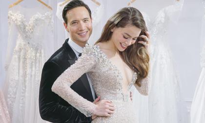 Sự thật ảnh Hồ Ngọc Hà và Kim Lý mặc đồ cưới, cả showbiz 'dậy sóng'